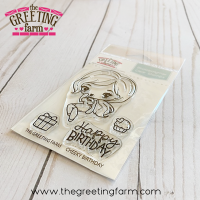 Cheeky Birthday clear stamp set - The Greeting Farm