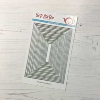 ***NEW*** Time For Tea - Layering Dies Metric Sized - (EU sized)