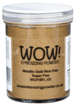 Metallic Gold Rich Pale Large 160ml pot
