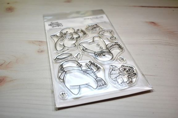 ****NEW****Sweet November - Drop it like it's cold Clear stamp set