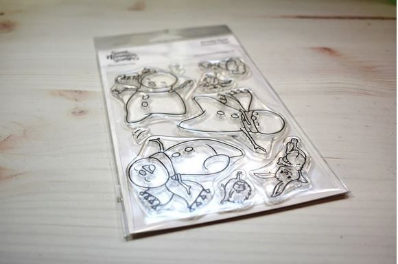 ****NEW****Sweet November - Frosty Feet Clear stamp set