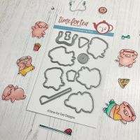 Time For Tea - Workout Pigs Coordinating Die set