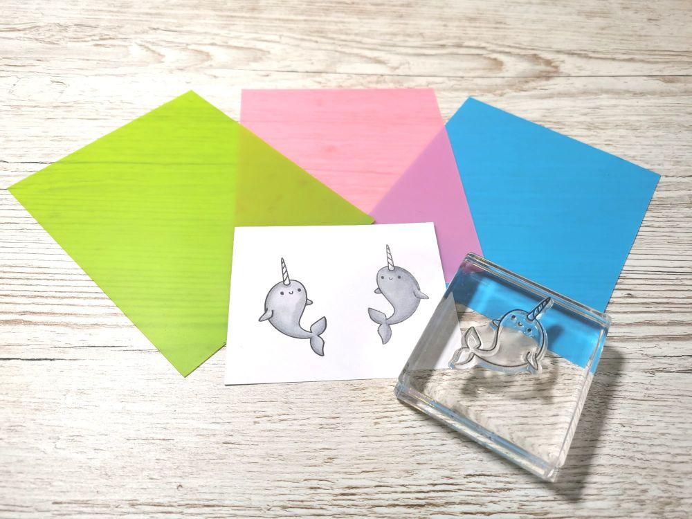 Silicon Stamp Mirroring Mat - Pink
