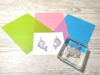Silicone Stamp Mirroring Mat - Blue