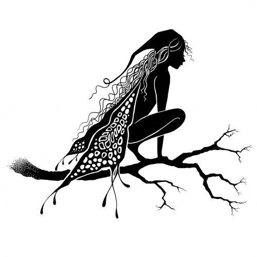 Lavinia Stamps - Raven
