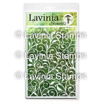 Lavinia Stamps - Leaf Trails Stencil