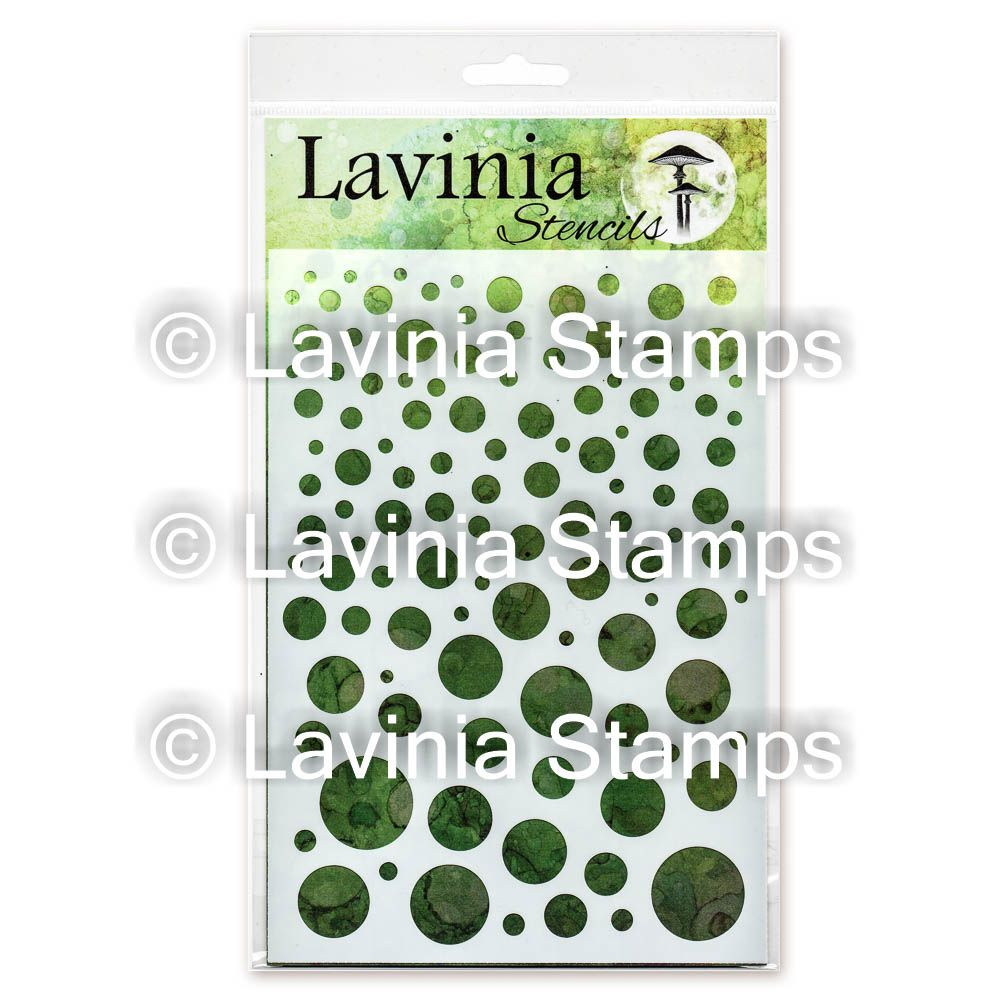 Lavinia Stamps - White Orbs