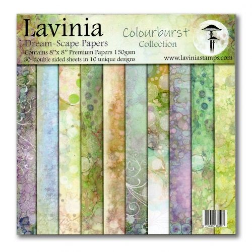 Lavinia Stamps - Dreamscape Papers. The Colourburst Collection