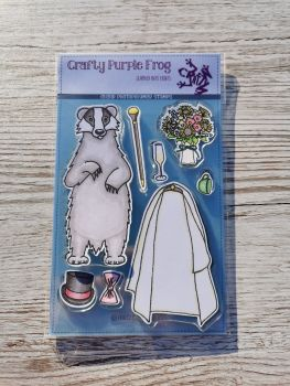 The Sett Stamp Set - Crafty Purple Frog