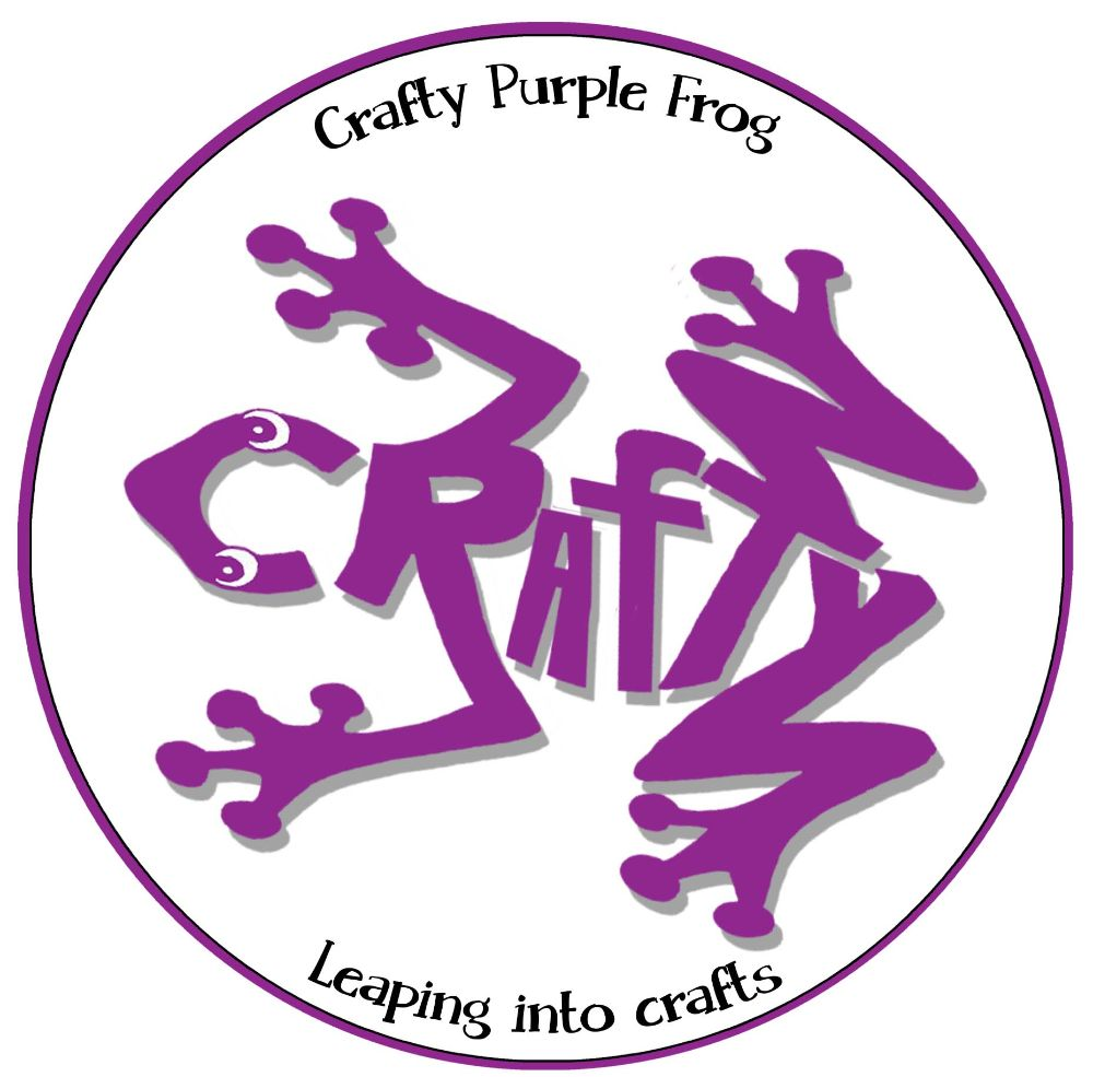 **Crafty Purple Frog** - Stamps