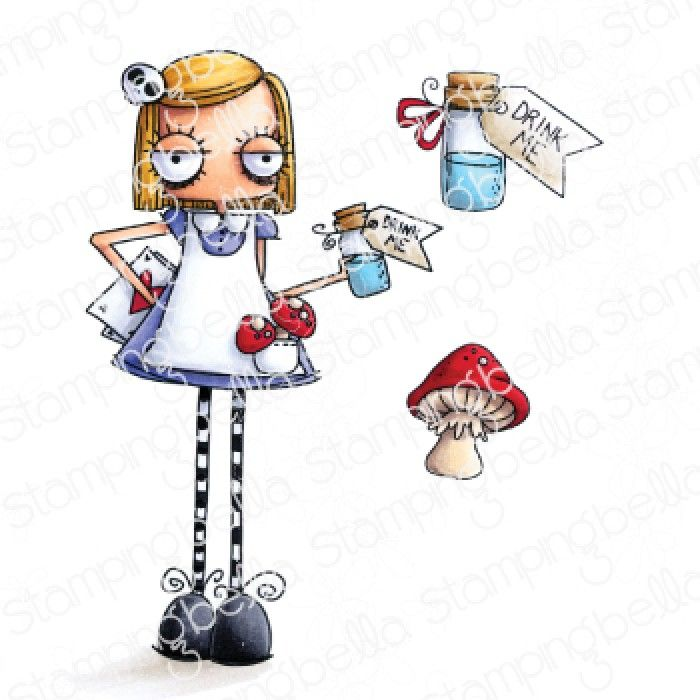 Stamping Bella - ODDBALL Alice in Wonderland (ALICE IN WONDERLAND COLLECTIO