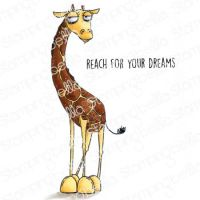 Stamping Bella - ODDBALL Giraffe