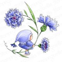 Stamping Bella - BUNDLE GIRL WITH A CORNFLOWER