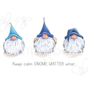 ***PRE-ORDER*** Stamping Bella - Gnomes - GNOMES HAVE FEELINGS TOO