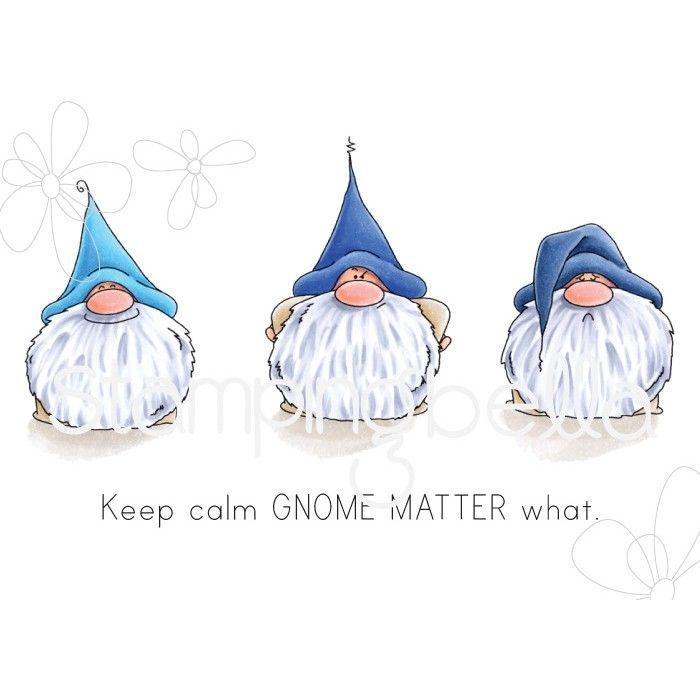 Stamping Bella - Gnomes - GNOMES HAVE FEELINGS TOO