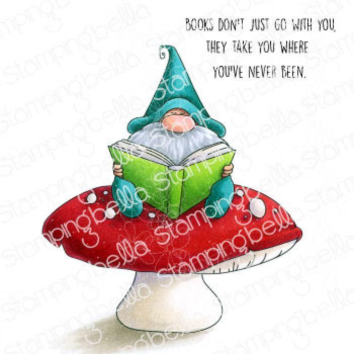 Stamping Bella - Gnomes - READING GNOME