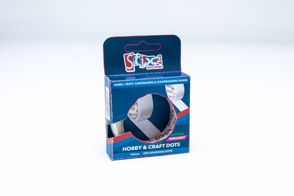 Hobby and Craft Glue Dots - 10mm