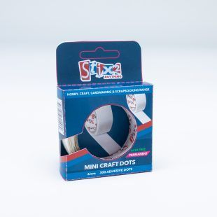 Hobby and Craft Glue Dots - 6mm