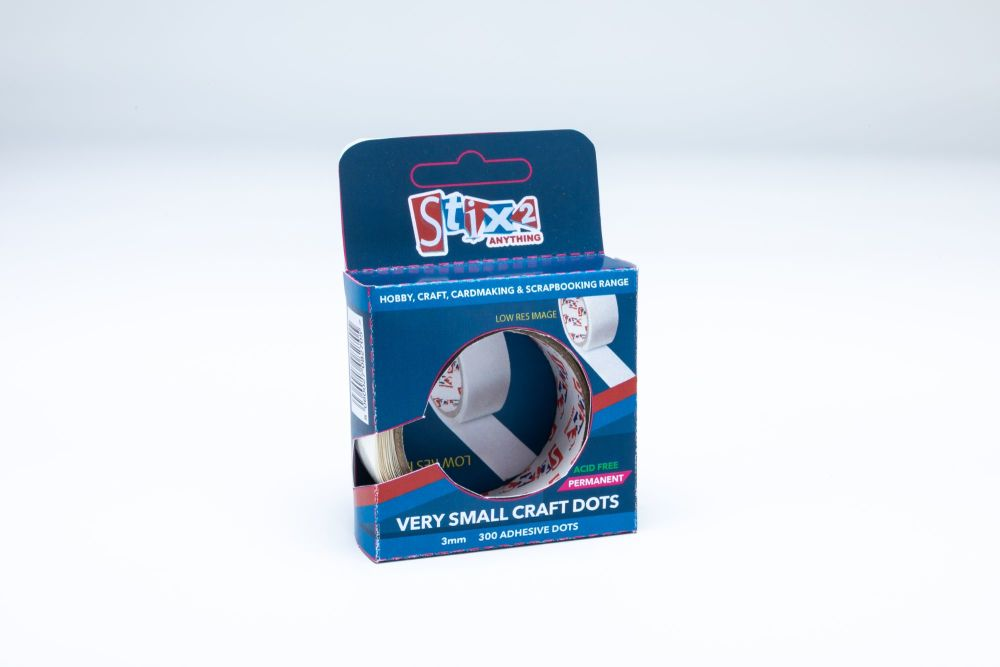 Hobby and Craft Glue Dots - 3mm
