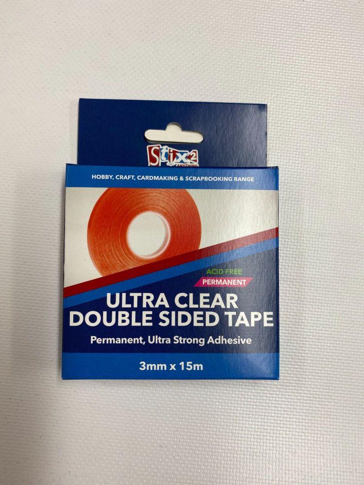 Ultra Clear Tape - 3mm x 15m