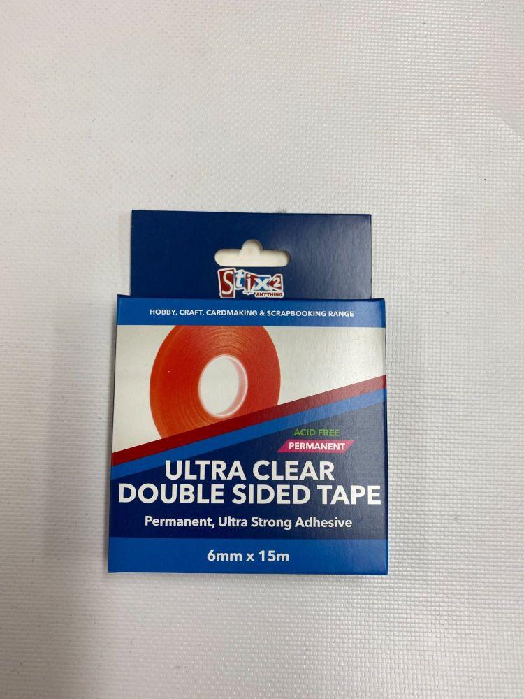 Ultra Clear Tape - 6mm x 15m