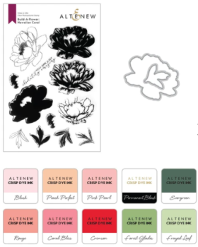 Build-A-Flower: Hawaiian Coral Layering Stamp & Die Set & Ink Bundle