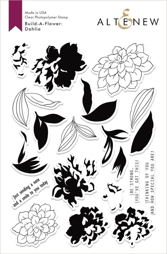 Build-A-Flower: Dahlia Layering Stamp & Die Set