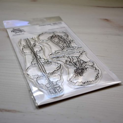****NEW****Sweet November - Horizon Lines - Reflection Clear stamp set