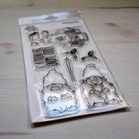 ****NEW****Sweet November - Gned and Gnina Clear stamp set