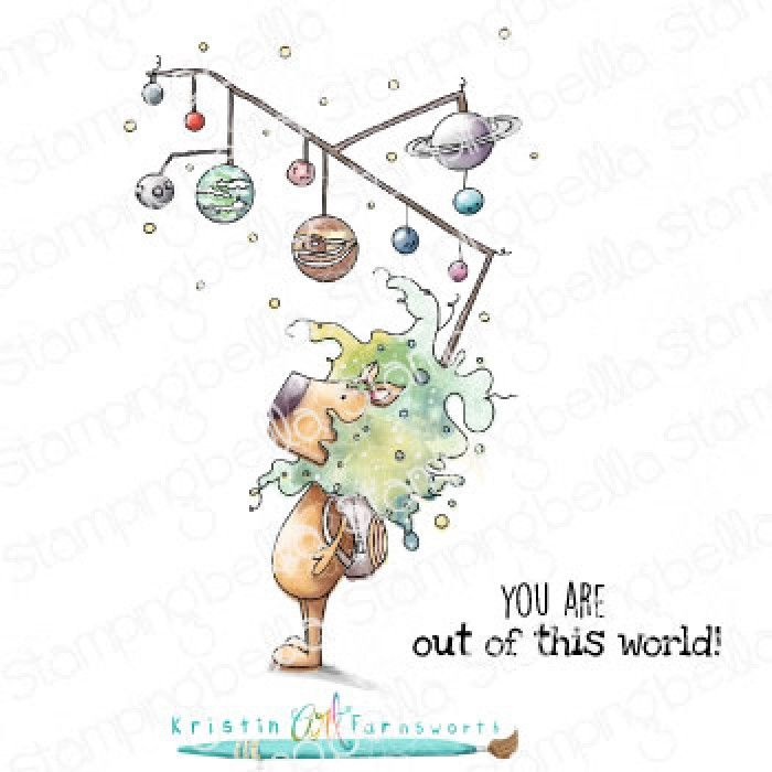 ***NEW*** Stamping Bella - DANDYLION COLLECTION- OUT OF THIS WORLD DANDY LI