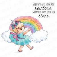 ***NEW***Stamping Bella - tiny townie RAINBOW