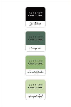 Green Fields Crisp Dye Ink Mini Cube Set