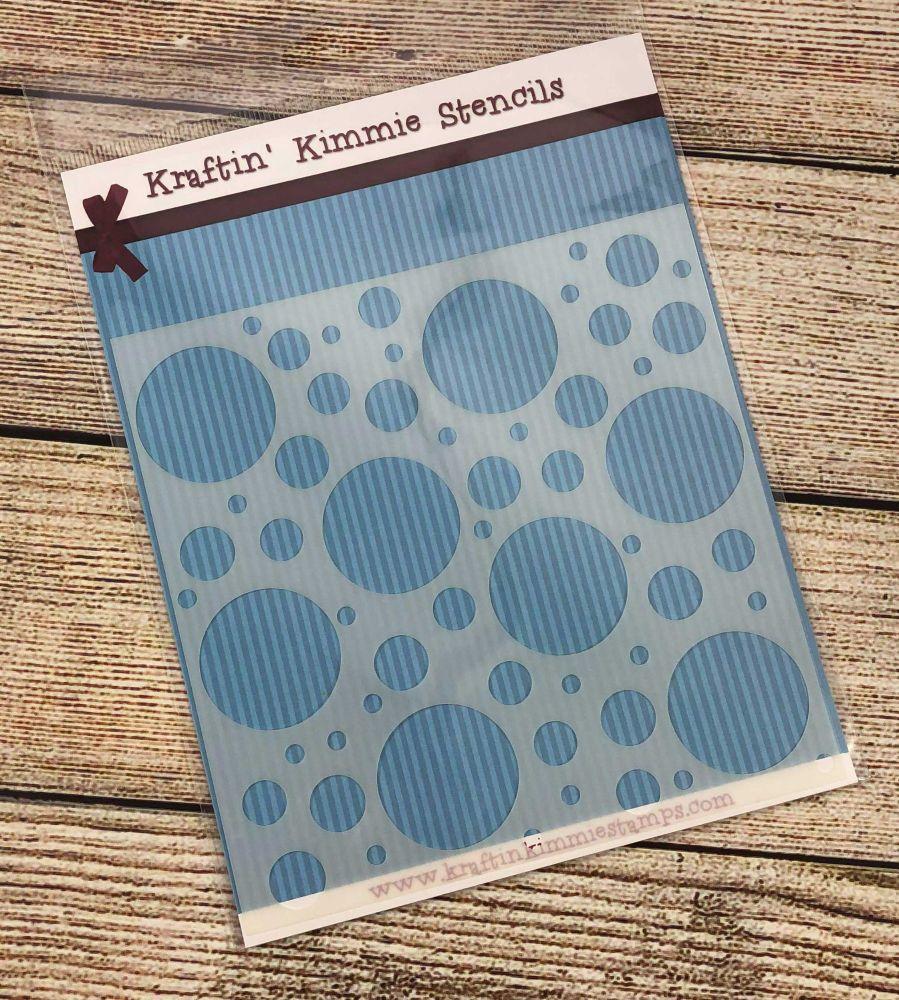 So many circles Stencil! - Kraftin' Kimmie