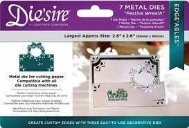 Die'sire - Edge'ables - Festive Wreath