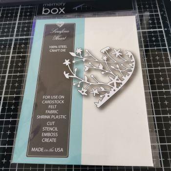 Memory Box - Serafina heart