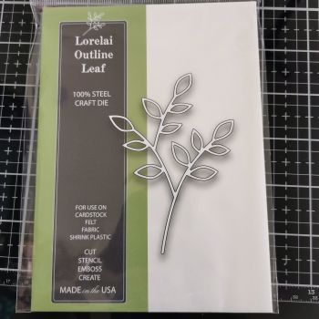 Memory Box - Lorelai Outline Leaf