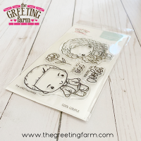 Cool couple clear stamp set - The Greeting Farm