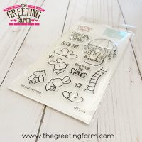 Lets Go clear stamp set - The Greeting Farm