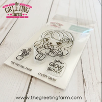 Cheeky Grow clear stamp set - The Greeting Farm