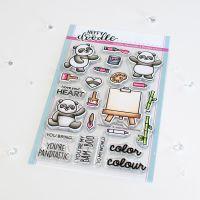 Heffy Doodle - Pandtastic Painters clear stamps