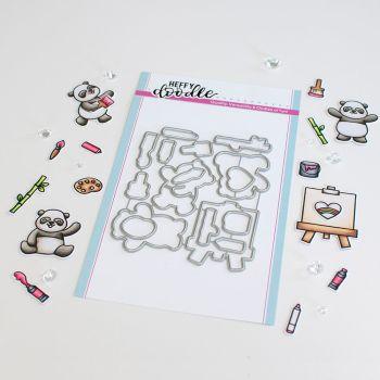 ***NEW*** Heffy Doodle - Pandtastic Painters die set