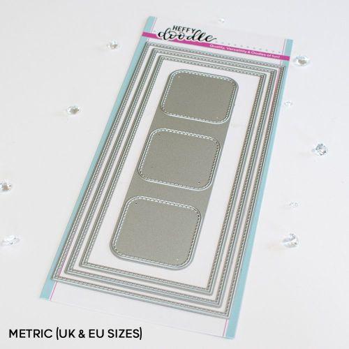 ***NEW*** Heffy Doodle - Slimline Mini Mail Die set