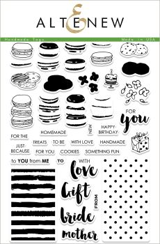Handmade Tags Stamp set - Altenew