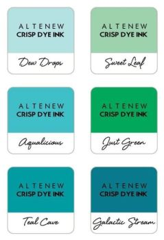 Misty Morning 6 Crisp Dye Ink Mini Cube Set - Altenew