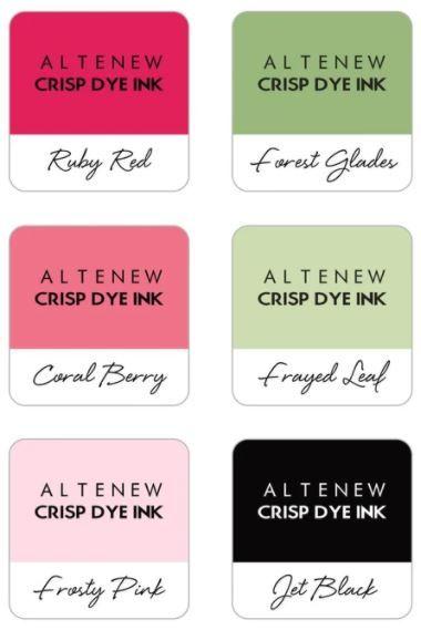 Floral 6 Crisp Dye Ink Mini Cube Set - Altenew