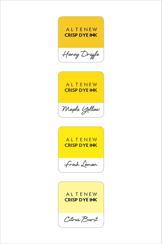 Pocketful of Sunshine Crisp Dye Ink Mini Cube Set - Altenew