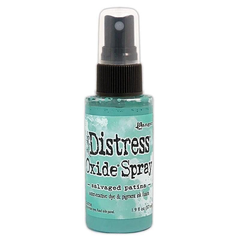 ***NEW***Salvaged Patina - Tim Holtz Distress Oxide Spray