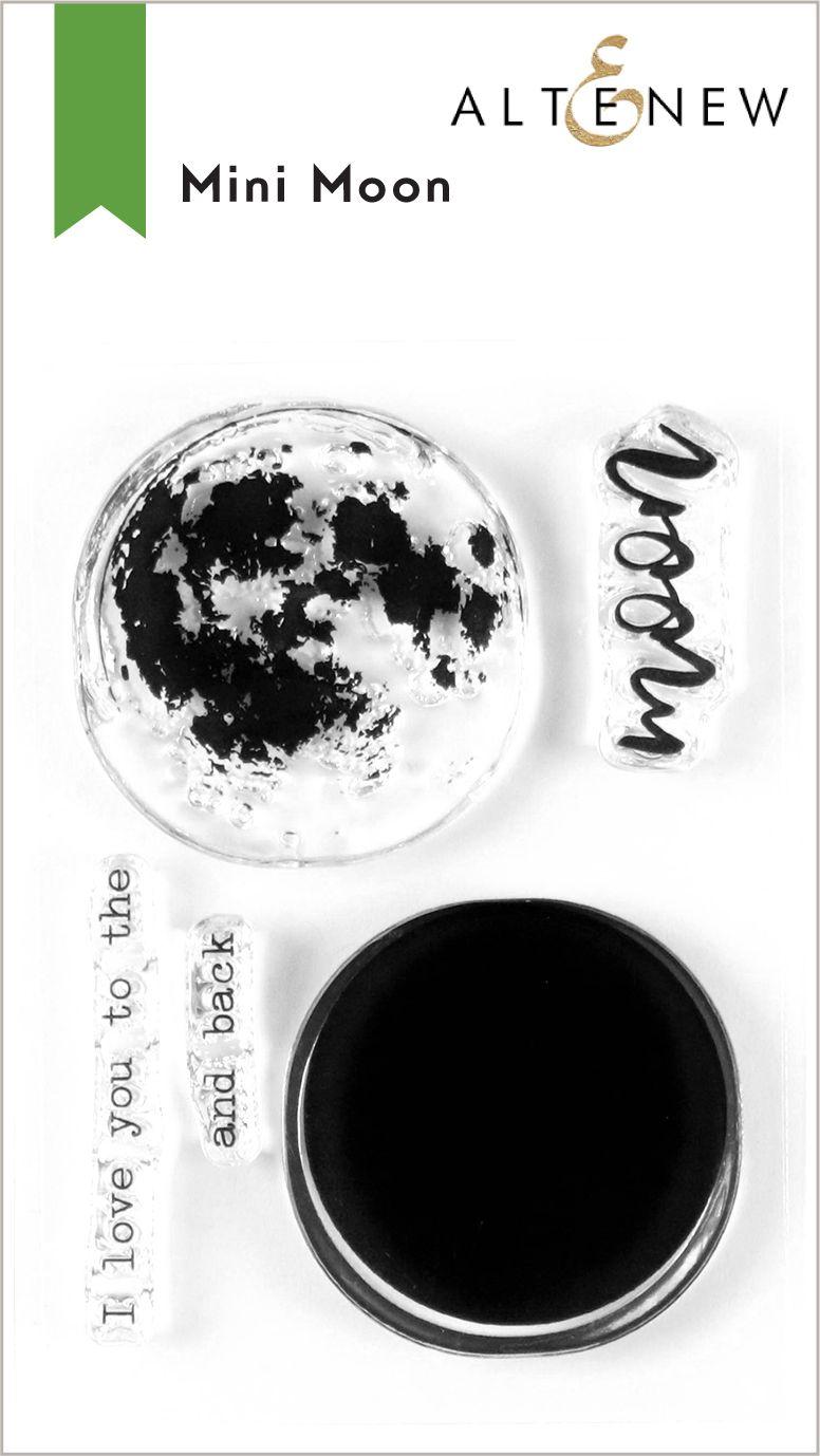Mini Moon Stamp set - Altenew
