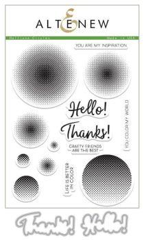 Halftone Circles Stamp set - Altenew