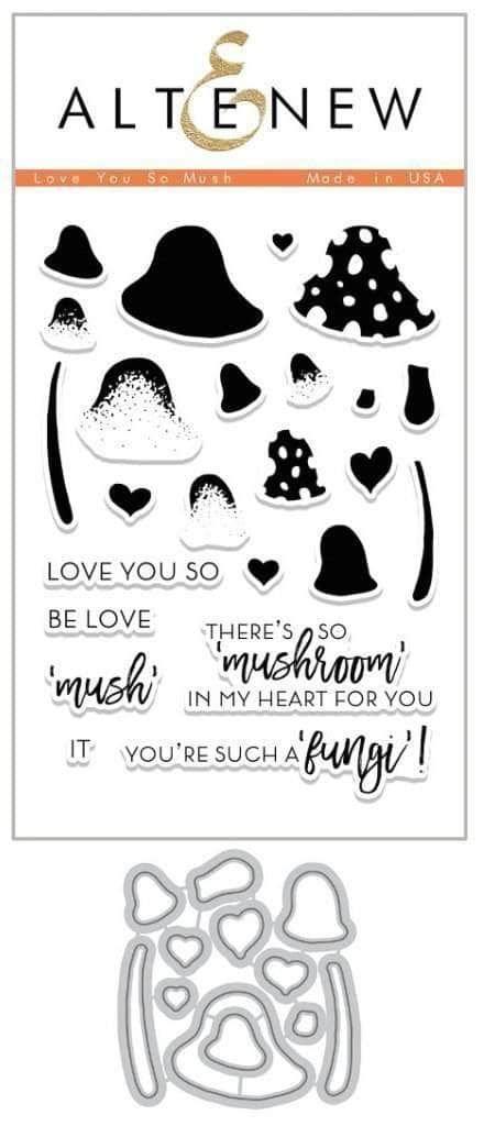 Love You So Mush Stamp & Die Set - Altenew